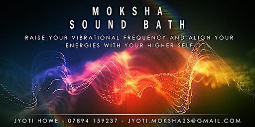 Moksha Sound Bath with meditation in West London