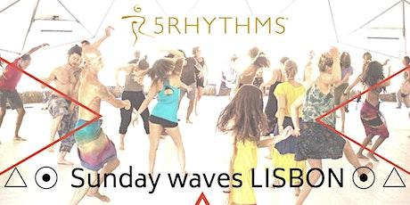 Sunday waves - 5 Rhythms dance with Dilma - meditação em movimento bilhetes