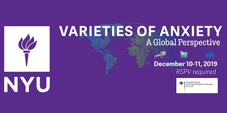 Varieties of Anxiety: A Global Perspective tickets