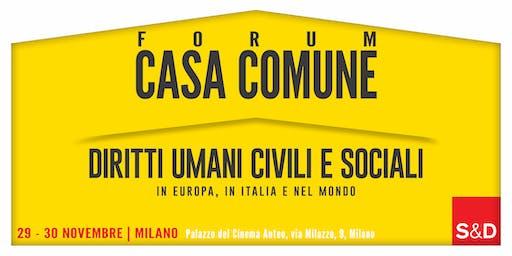 1° Forum di Casa Comune