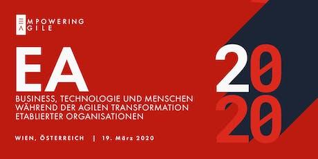 Empowering Agile Konferenz 2020 Tickets