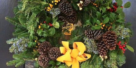 Holiday Wreath-Making Workshop tickets