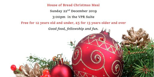 House of Bread Christmas Meal