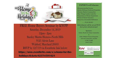 A Home For The Holidays tickets