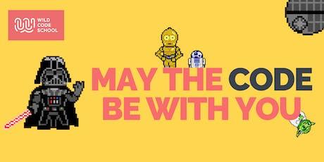 Let's make pixel art! |  HTML, CSS & JS  workshop tickets