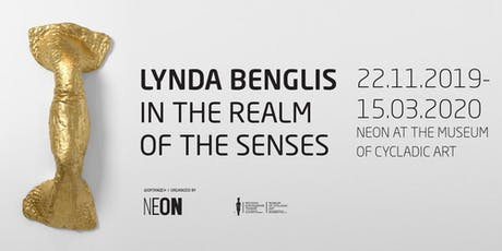 GUIDED TOURS | Lynda Benglis: In the Realm of the Senses entradas
