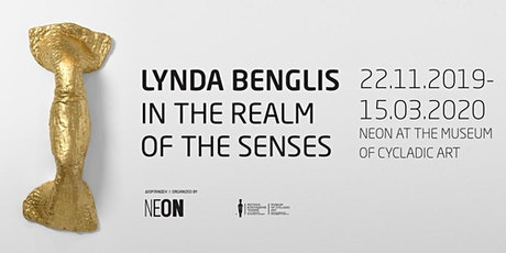 GUIDED TOURS | Lynda Benglis: In the Realm of the Senses tickets