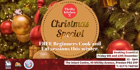 Thrifty Kitchen: Christmas Special Cook and Eat tickets