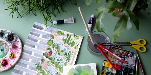 Watercolour Houseplant Workshop: Forest London