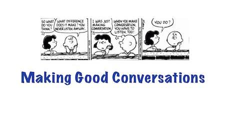 XYZ3 - Making Good Conversations ingressos