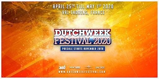 Dutchweek Festival 2020