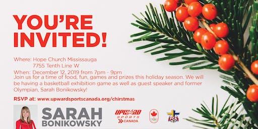 Upward Sports Canada Christmas Party