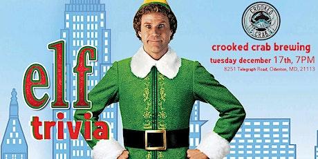 Elf Trivia at Crooked Crab Brewing Company tickets
