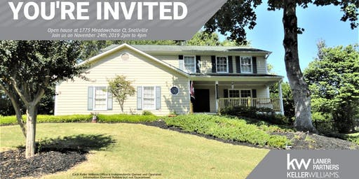 Open House! 1775 Meadowchase Ct, Snellville, GA 30078