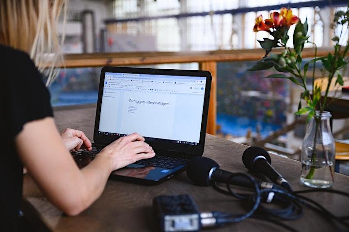 Podcast Online Workshop - Die Basics online lernen: Bild