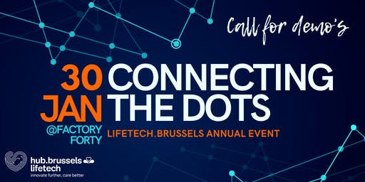 Connecting the Dots 2020 : lifetech.brussels annual event
