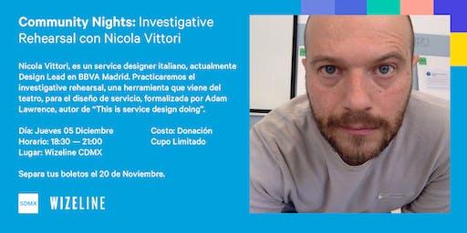 Service Design Community Nights con Nicola Vittori