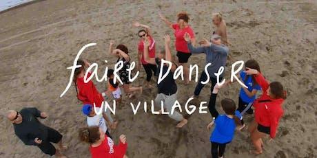 Lancement Faire danser un village MRC des Etchemins billets