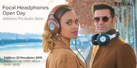 Focal Headphones Open Day tickets