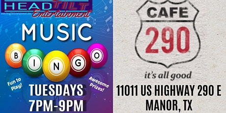 Music Bingo at Cafe 290 - Manor, TX tickets