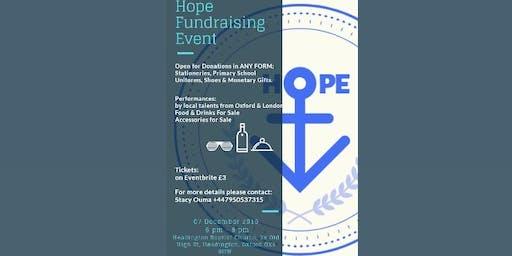 HOPE FUNDRAISING EVENT