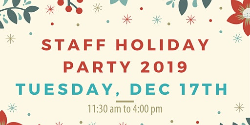 Staff Holiday Party 2019