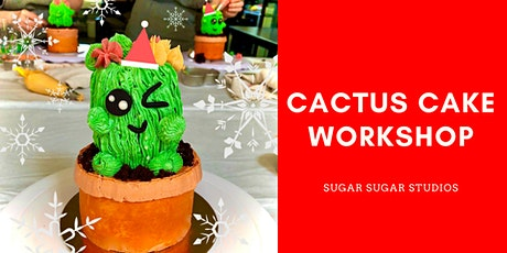 Cake Decorating: Cactus Cake Workshop tickets