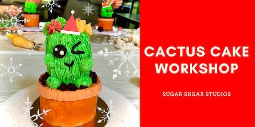 Cake Decorating: Cactus Cake Workshop