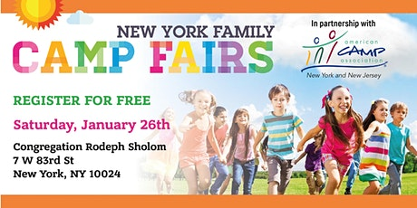 New York Family Camp Fair - Upper West Side tickets