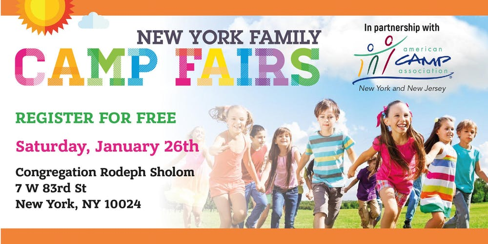 Upper West Side Street Fair 2020.New York Family Camp Fair Upper West Side Tickets Sun