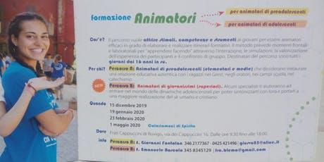 Formazione Animatori 2019/20 biglietti