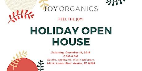 Holiday Open House - Feel The JOY! tickets