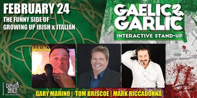 Gaelic & Garlic Comedy Show Live In Naples, FL Off the hook comedy club