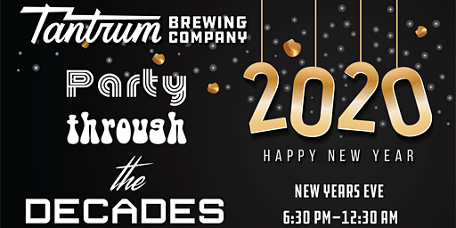 PARTY THROUGH THE DECADES -  NEW YEAR'S EVE
