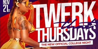 "FREE ENTRY to ""TWERK THAT THURSDAY"" THIS THURSDAY @ SAFARI (NOV.21ST)"