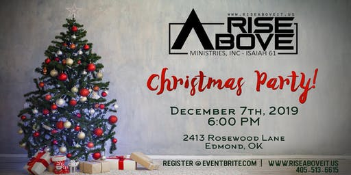 Rise Above Ministries Christmas Party