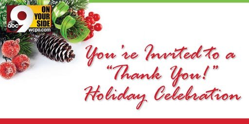 "WCPO ""Thank You!"" Holiday Celebration"
