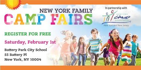 New York Family Camp Fair- Battery Park City tickets