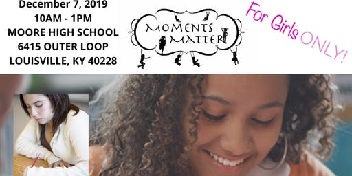 Moments Matter Young Authors Boot Camp
