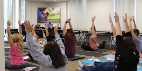 Wellness Wednesday Yoga Class tickets