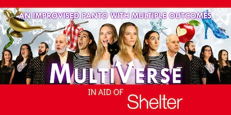 Hoopla LATE SHOW:  Improvised Panto in aid of Shelter! tickets