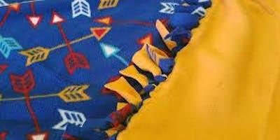 No-Sew Blanket Making