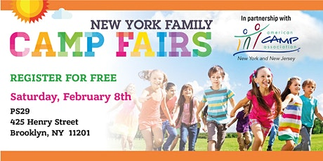 New York Family Camp Fair - Cobble Hill tickets