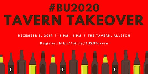 BU 2020 Tavern Takeover: One Semester Down, One To Go!