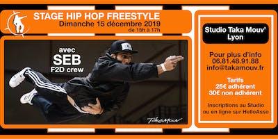 Stage Hip Hop Freestyle avec Seb (F2D Crew) au Studio Takamouv