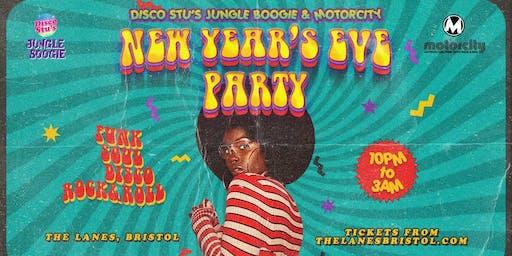 Disco Stu's Jungle Boogie & Motorcity NYE at The Lanes