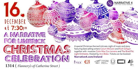A Narrative For Limerick Christmas Celebration tickets