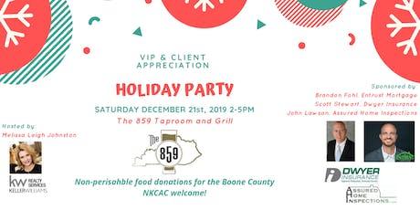 VIP & Client Appreciation Party tickets