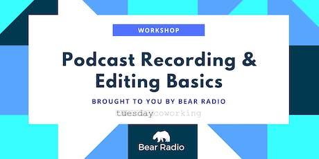 Workshop: Podcast Recording + Editing Basics  tickets