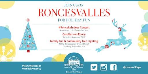 Community Holiday Tree Lighting & Family Fun Time